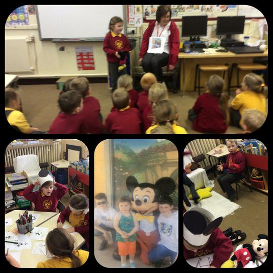Mickey Mouse Show and Tell