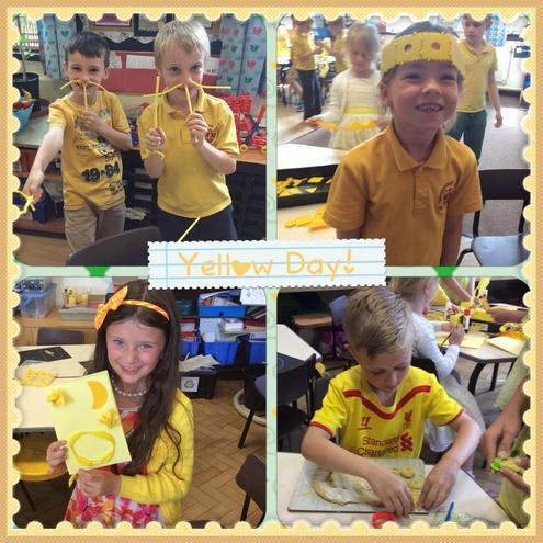 Yellow fun!