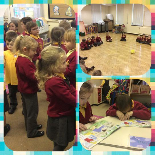 Friendship week Music practise and reading