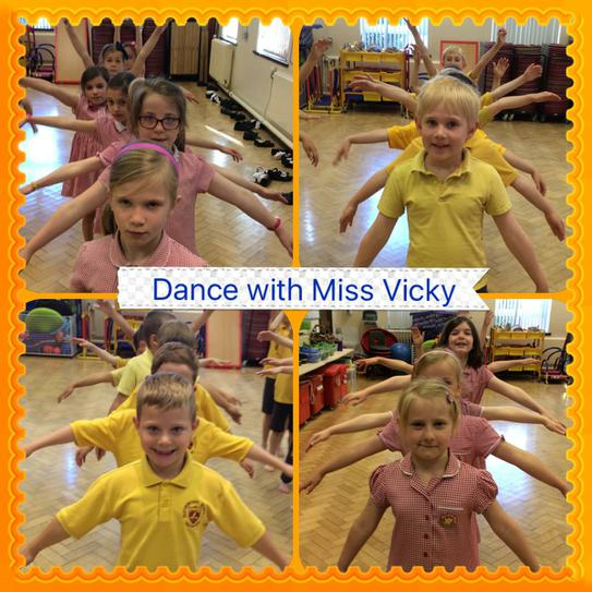 Great moves in dance with Miss Vicky!