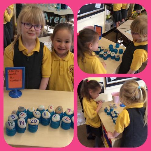 We did a maths challenge!