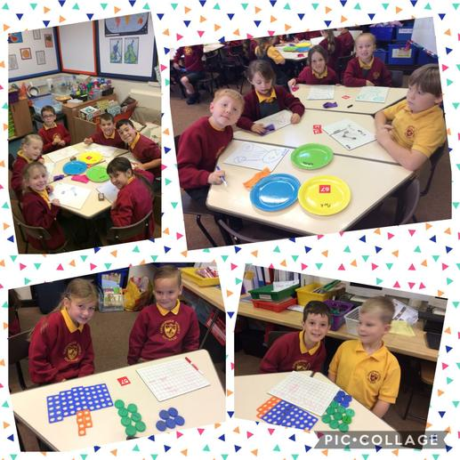 Using the 'part,whole' model in maths