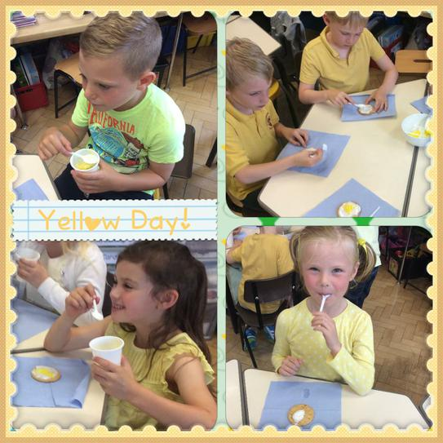 Yellow food!