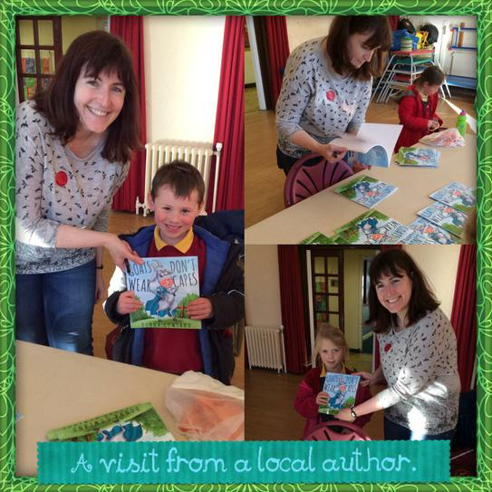 Mrs Gowland came to sign copies of her book.