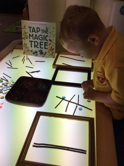 Making our own magic trees.