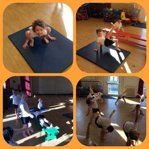 Balancing in gymnastics!