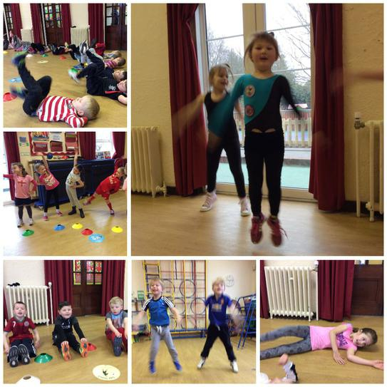 Getting active for Sports Relief!