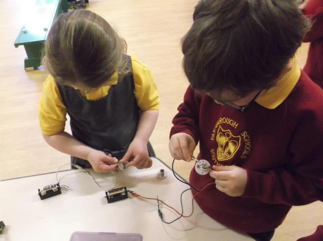 Making an electrical ciruit