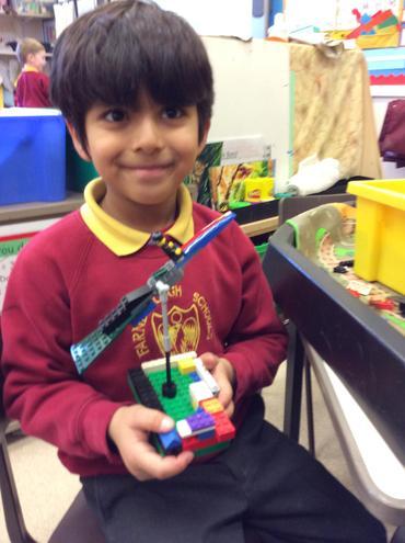 Lego construction.