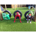 Y6 getting into the spirit of things