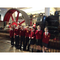 Miss Gibbons' group exploring the Science Museum