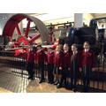 Mrs Finch's group at the Science Museum