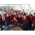 Flying high on the London Eye