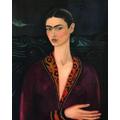 Frida KahloAutorretrato con traje de terciopelo,1926 Galeria Enrique Guerrero