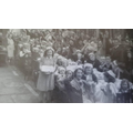 Eva's Nan at her VE Day Celebration in 1945