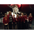 Mrs Taylor's group off to see the dinosaurs