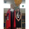 Taryn meets The Mayor of Sefton