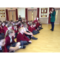 Y5 with our visiting author on Monday