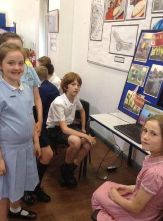 School council Southport celebration