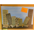 Using mixed media to create a collage in Year 4