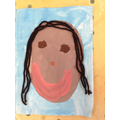 We have been working so hard on our self-portraits