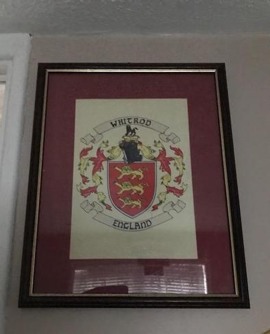 Miss Whitrod's Family Coat of Arms