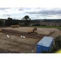 Surfacing the site compound/staff car park