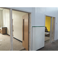 More classroom doors have been fitted