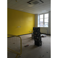 Skirting boards have been added  in Y5 classroom