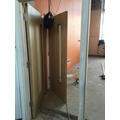 Classroom doors being fitted