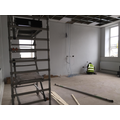 Electrics being completed in one classroom