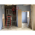 Space behind scaffold to be new children's toilets
