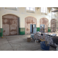 School hall nearly ready for painting