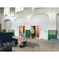 The school hall is also being decorated