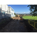 Access road for site has started to be built
