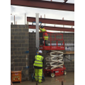 Putting the steels into place