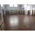 Main hall - all clear finally!