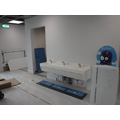 Reception toilets