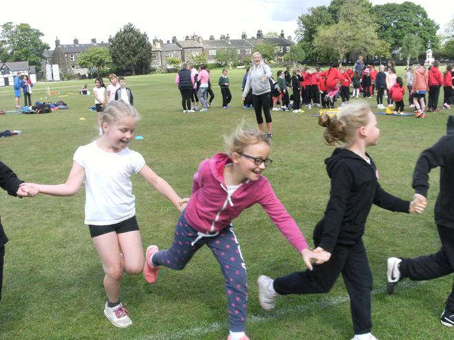 Y3 Heptathlon against other local schools
