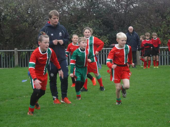 Y6 rugby tournament