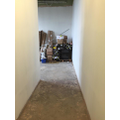 Corridor down to new children's kitchen
