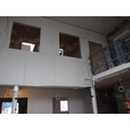 View of staffroom from library area