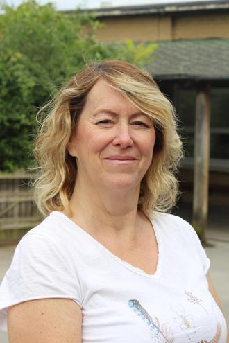 School gardener/Eco-coordinator: Mrs Fletcher