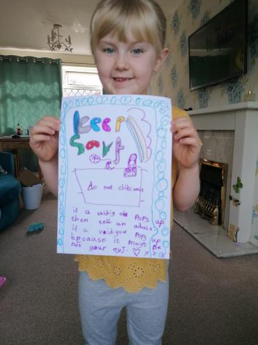 'Keep safe' poster from Bethany