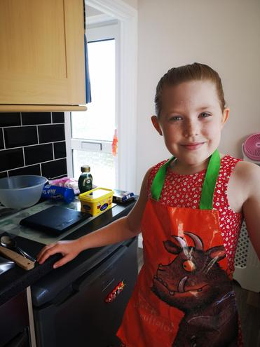 Isabelle the Rocky Road maker baker!