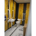 New disabled toilet