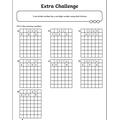 Year 6 extra homework sheet