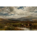 Another Scottish moorland landscape painting.