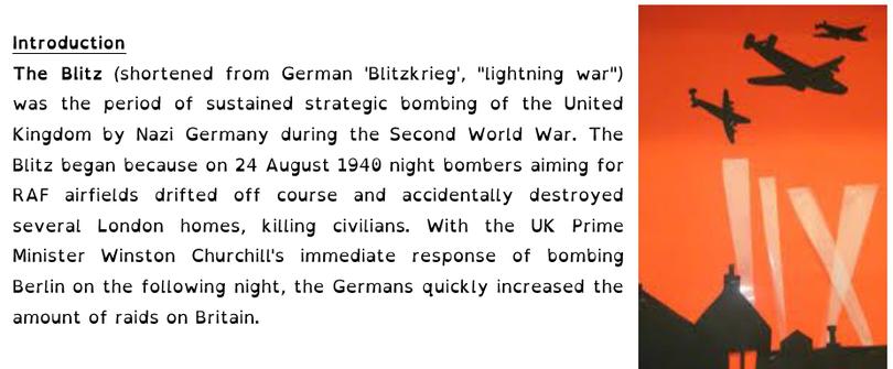 The Blitz 1