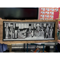 Elizabeth brought in this amazing Egyptian art work